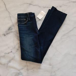FRAME Le Mini Boot Habana Mid Rise Jeans